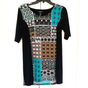 Style & Co Picasso Blouse